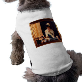 """Anne Bradstreet """"Love Thee"""" Love Quote Gifts & Tee Sleeveless Dog Shirt"""