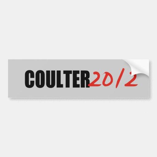 ANNE COULTER BUMPER STICKER