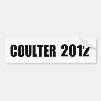 ANNE COULTER CAR BUMPER STICKER