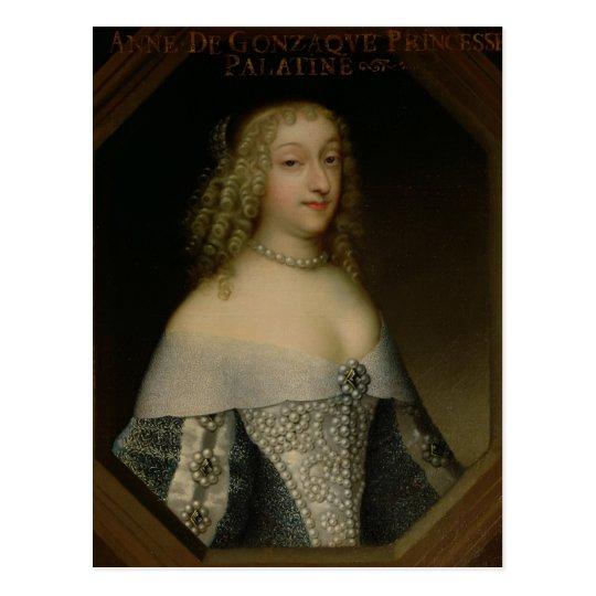 Anne de Gonzaga Princess Palatine Postcard