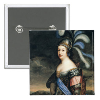 Anne de La Grange-Trianon  Countess 15 Cm Square Badge