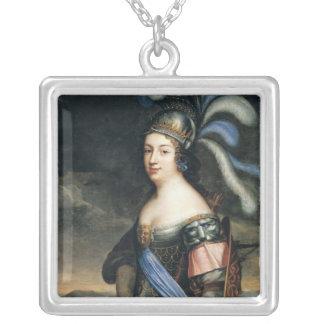 Anne de La Grange-Trianon  Countess Silver Plated Necklace