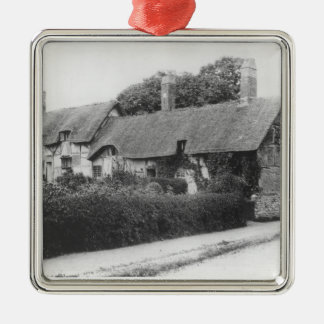 Anne Hathaway's cottage Christmas Ornament