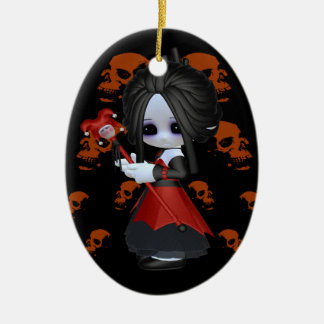 Anne-Marie Little Gothic Christmas Ornament