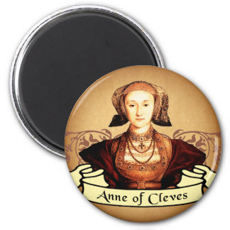 Anne of Cleves Classic 6 Cm Round Magnet