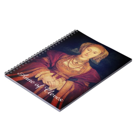Anne of Cleves Spiral Notebook
