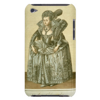 Anne of Denmark (1574-1619) wife of James I, illus Barely There iPod Case