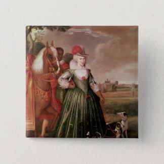 Anne of Denmark, 1617 15 Cm Square Badge