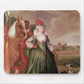 Anne of Denmark, 1617 Mouse Mat