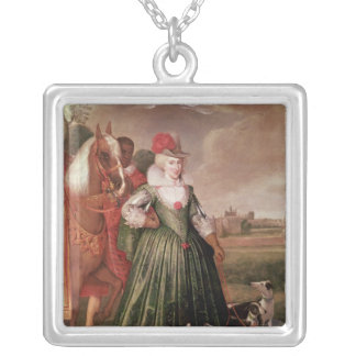 Anne of Denmark, 1617 Silver Plated Necklace