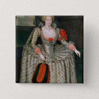 Anne of Denmark, c.1605-10 15 Cm Square Badge