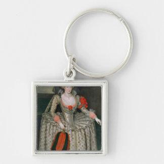 Anne of Denmark c 1605-10 Key Chain