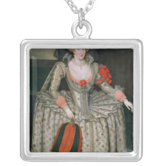Anne of Denmark, c.1605-10 Silver Plated Necklace