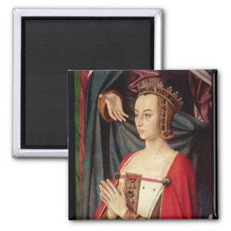 Anne of France Square Magnet
