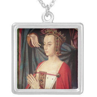 Anne of France Silver Plated Necklace