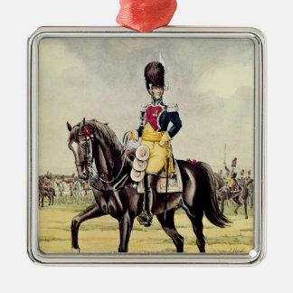 Anne Savary, Duke of Rovigo Silver-Colored Square Decoration