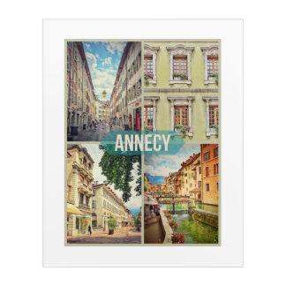 "Annecy 16""x20"" Acrylic Print"