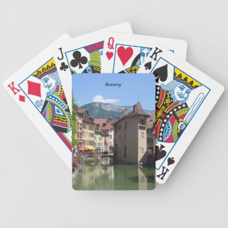 Annecy - bicycle playing cards