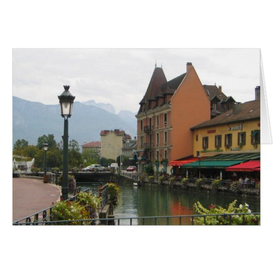 Annecy France Card