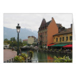 Annecy France Greeting Card