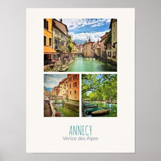 Annecy - Haute-Savoie Poster