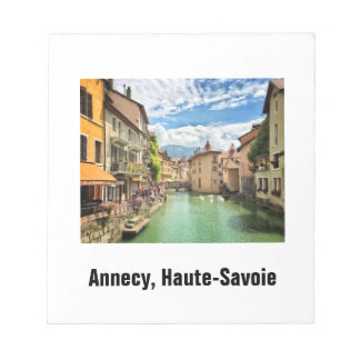 Annecy Notepad