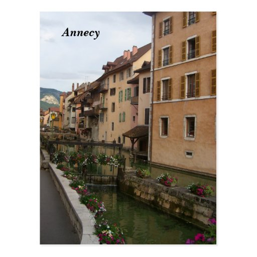 Annecy - postcard