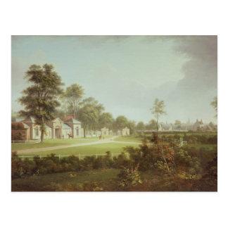 Annefield with Glasgow beyond, c.1800 Postcard