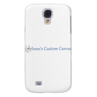 Anne's Custom Canvas Galaxy S4 Case
