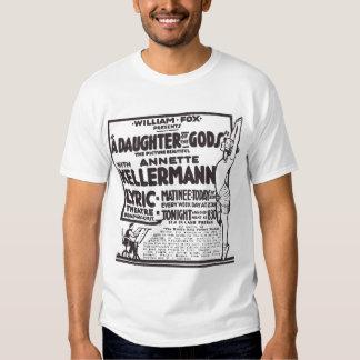 Annette Kellermann 1915 movie poster T-shirt
