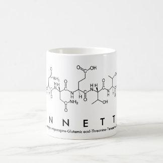 Annette peptide name mug