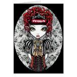 Annie Gothic Victorian Fae Card