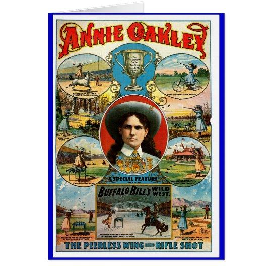 Annie Oakley - Card