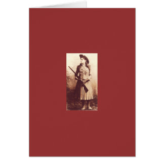 Annie Oakley Note Card