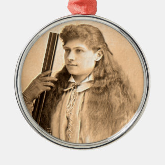 Annie Oakley Portrait Christmas Ornament