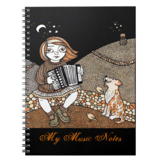 Annies Accordian Notepad Spiral Notebooks