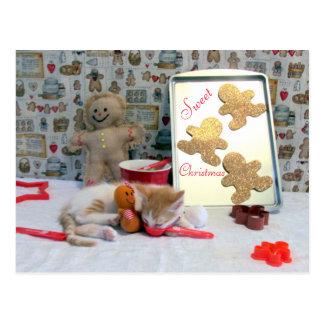 Annie's Let's Bake! Gingerbread PostCard (4548)