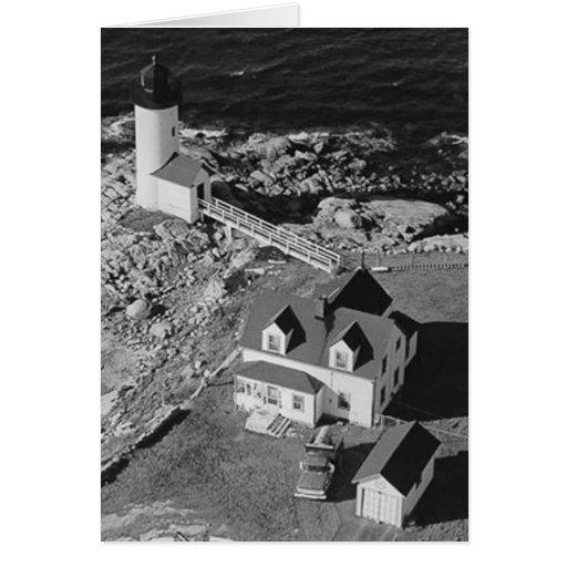 Annisquam Harbor Lighthouse Greeting Cards