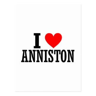 Anniston, Alabama City Design Postcard