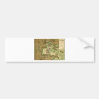 Anniv of Paul Revere's Ride Boston in 1776 jpg Bumper Sticker