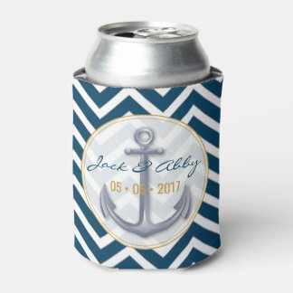 Anniversary Anchor Can Cooler