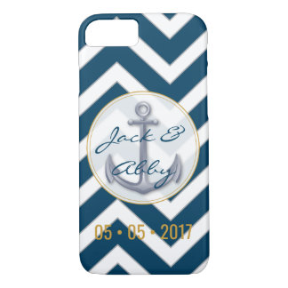 Anniversary Anchor iPhone 7 Case