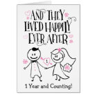 Anniversary, And They Lived Happily Ever After Card