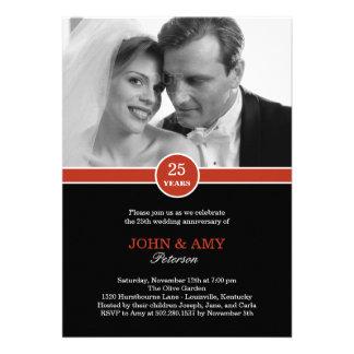 Anniversary Band Anniversary Invitation Card