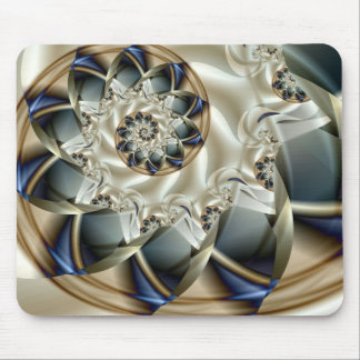 Anniversary Beautiful Abstract Fine Art Fractal Mouse Pad