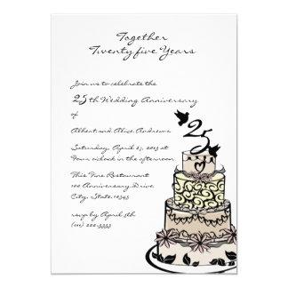 Anniversary Cake Card