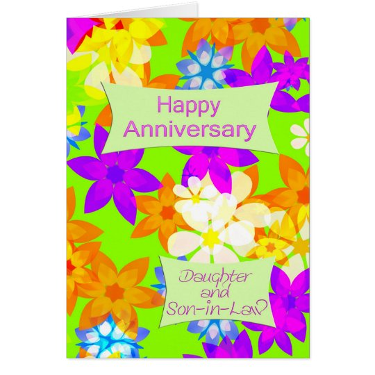 Anniversary for daughter and son-in-law card