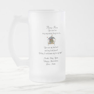 Anniversary for Him - Frosted Mug
