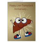 Anniversary Of Liver Transplant greeting cards