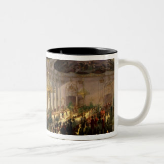 Anniversary of the Military Order of Maria Two-Tone Coffee Mug